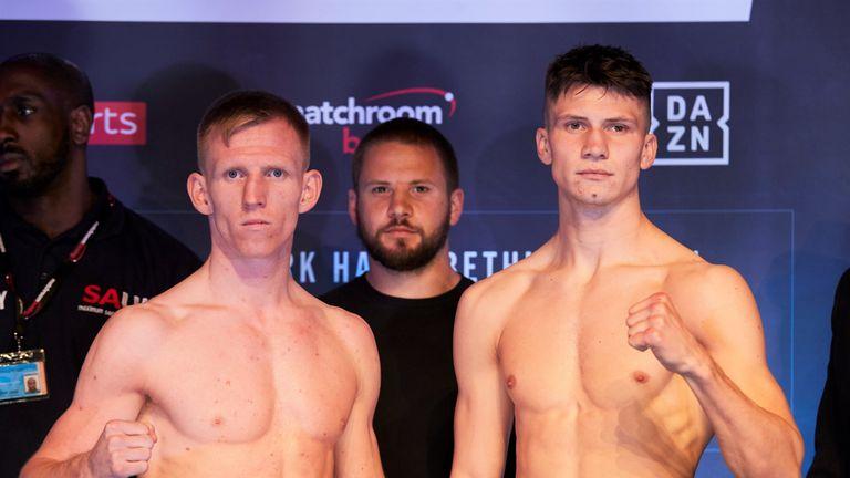 Ted Cheeseman defends British belt against Kieron Conway