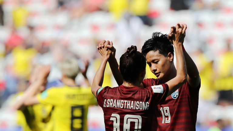 Thailand Women suffered another big defeat at the Women's World Cup, but did find the net