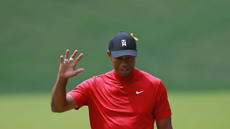 Woods' top-10 finish is his fourth of the season