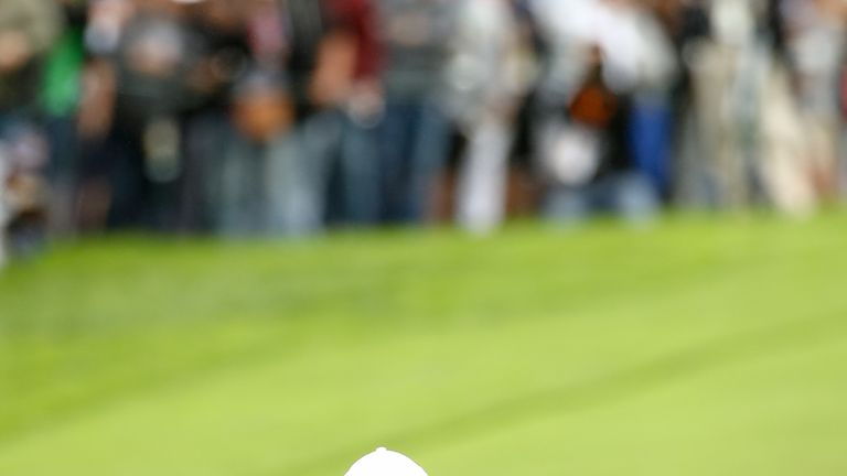 Woods remained at level par and looks too far back to challenge