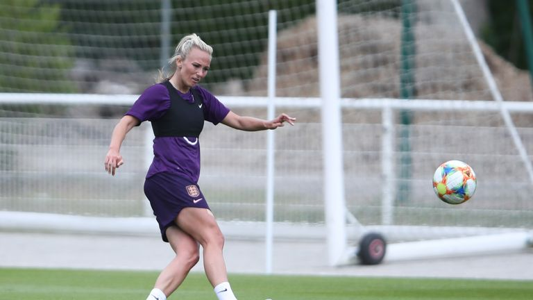 Toni Duggan returned from injury for England's 2-0 win over Japan
