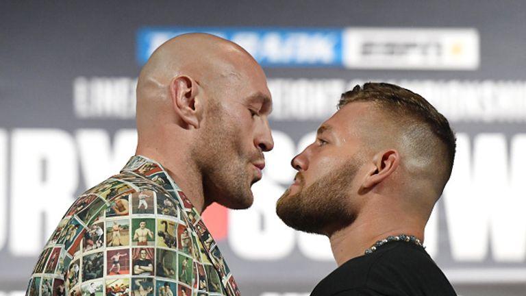 Fury and Schwarz go head to head
