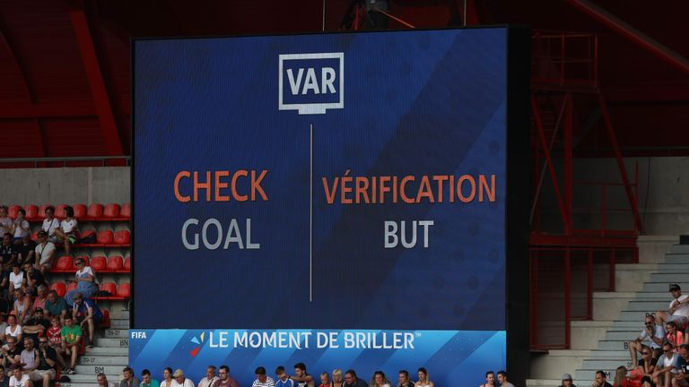 VAR was the centre of attention during England's 3-0 win over Cameroon in the Women's World Cup