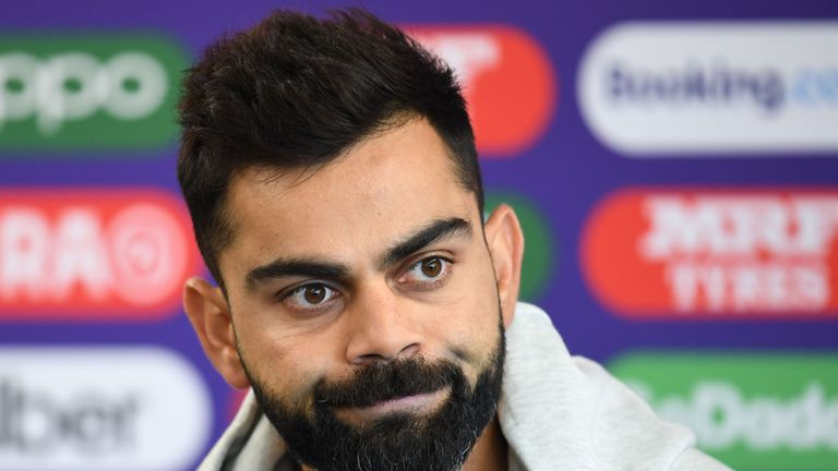 India captain Virat Kohli has urged his compatriots to stay home to slow the spread of coronavirus