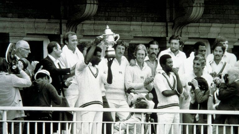 West Indies won every game other than a rain-affected game against Sri Lanka on their way to winning the 1979 World Cup