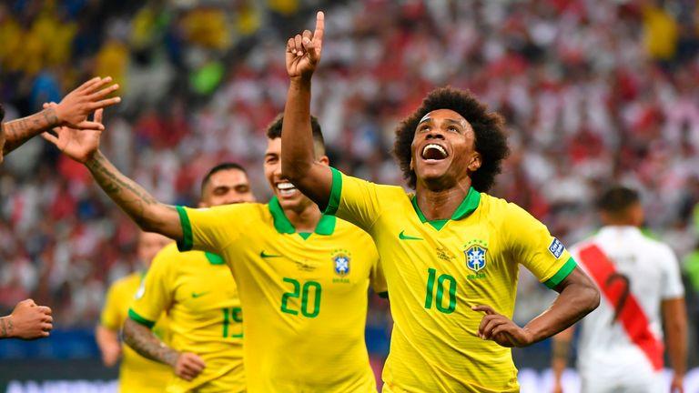 Peru 0 - 5 Brazil - Match Report & Highlights