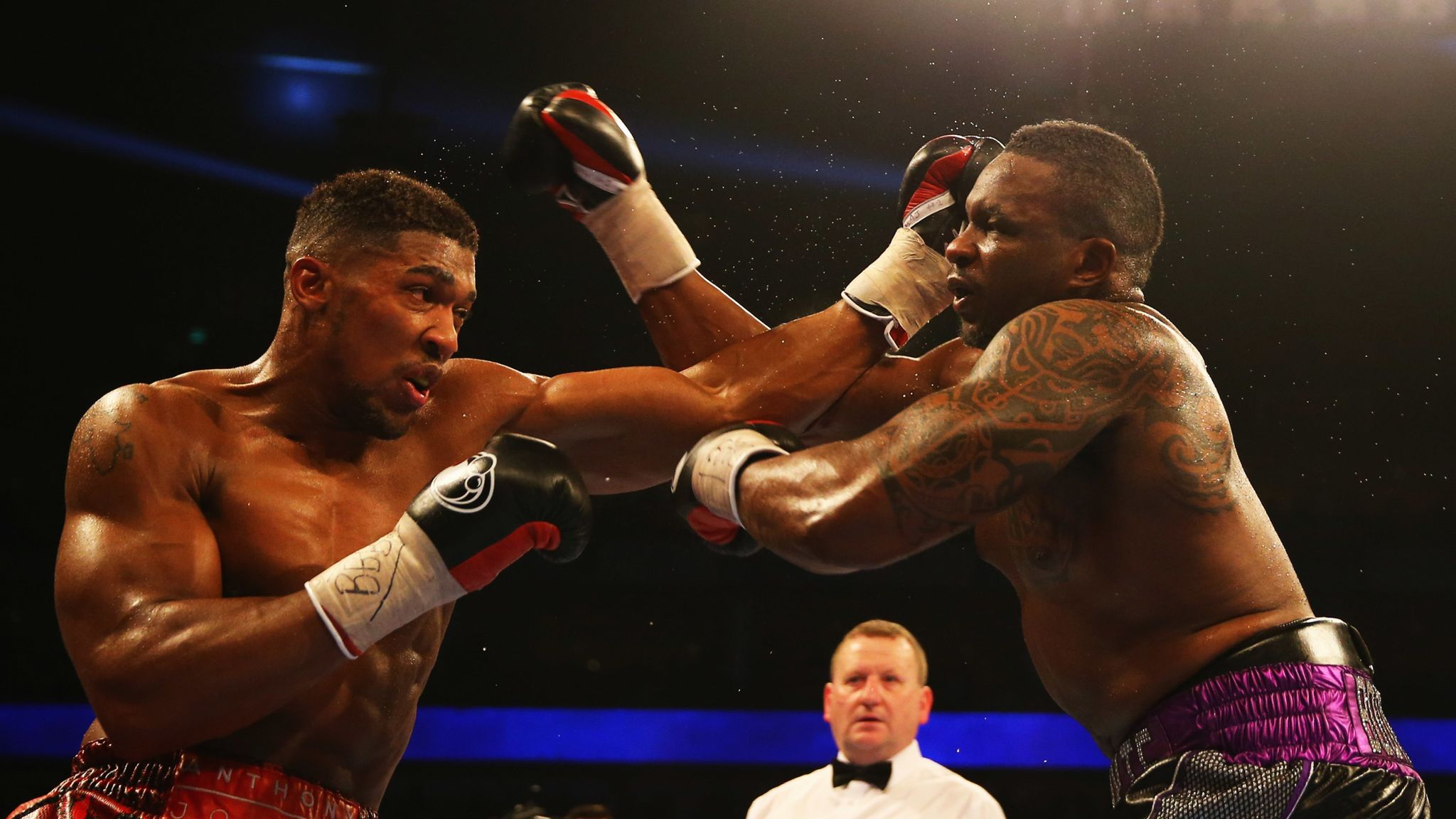 Dillian Whyte says Anthony Joshua won't be the same fighter again