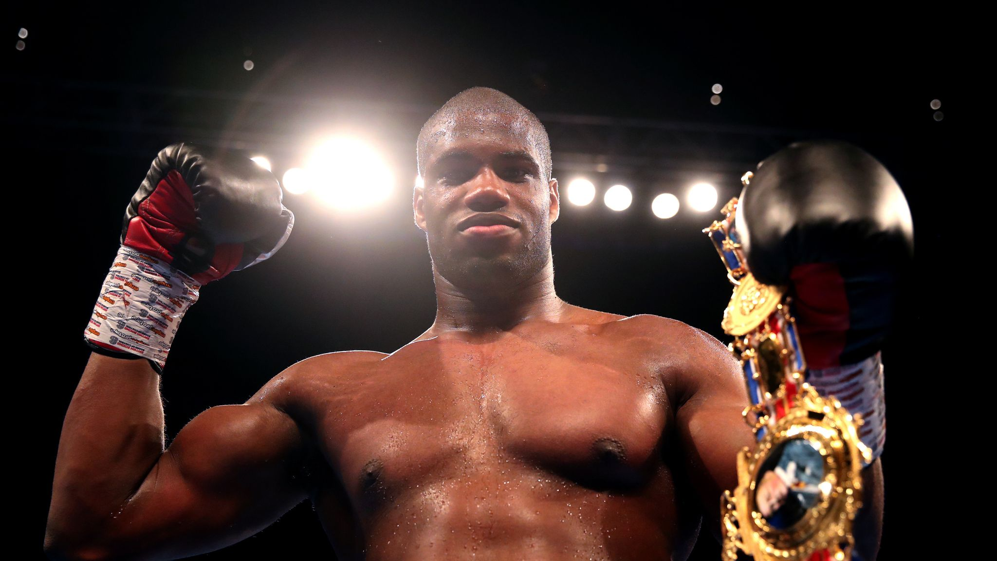 Daniel Dubois blasts out Nathan Gorman to win British title
