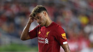 Alex Oxlade-Chamberlain continued his preparations for the new season by playing 60 minutes in Indiana