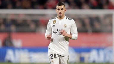 Real Madrid midfielder Dani Ceballos says he is hoping to get more game time next year after only 12 starts in La Liga last season
