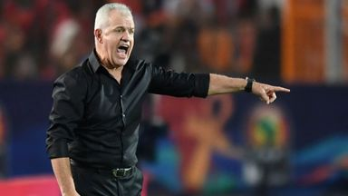 Javier Aguirre has lost his job with Egypt