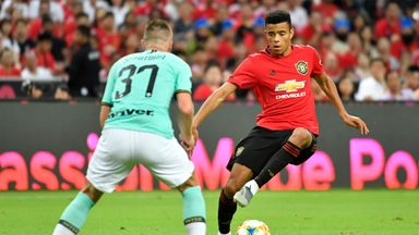 Mason Greenwood could be a regular feature for United next season