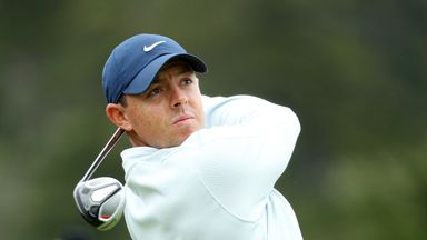Rory McIlroy is off shortly after 10am