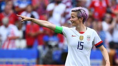 fifa live scores - Megan Rapinoe wins 2019 Women's Ballon d'Or