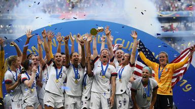USA retained the Women's World Cup with a 2-0 win over Netherlands