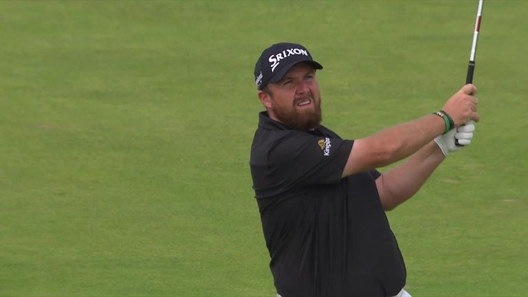 Watch all the best bits from Shane Lowry's third-round 63 to give him a four-shot lead heading into the final round of The Open.