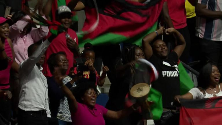 The Malawi Queens also showed their love of dance and their supporters
