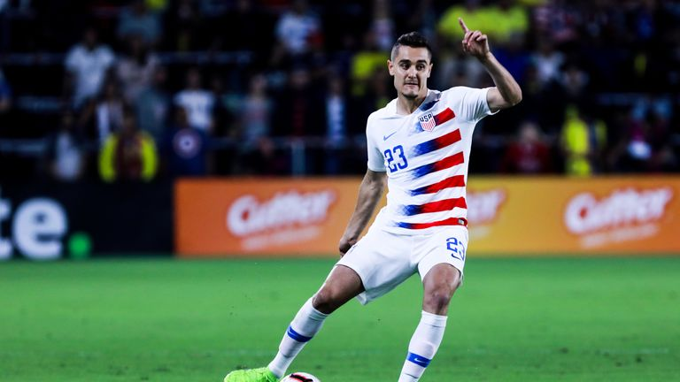 Long has made 11 appearances for the United States