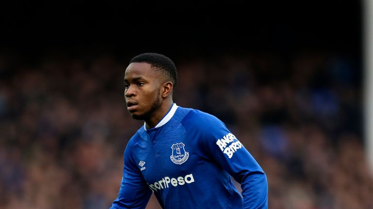 Ademola Lookman made three Premier League starts for Everton during the 2018-19 season