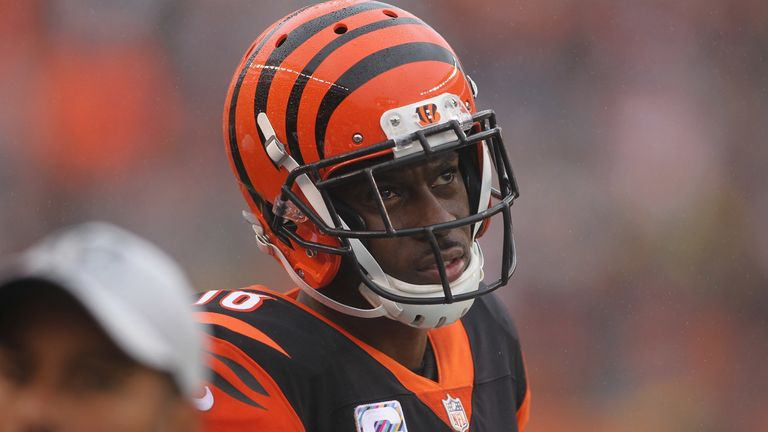Wide receiver A.J. Green has suffered an injury scare during Cincinnati Bengals practice