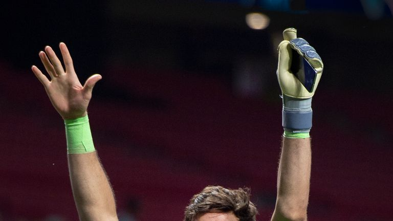 Alisson could become a legend for Liverpool, according to one of the club's most famous goalkeepers