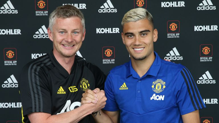 Andreas Pereira has signed a deal to keep him at the club until 2023