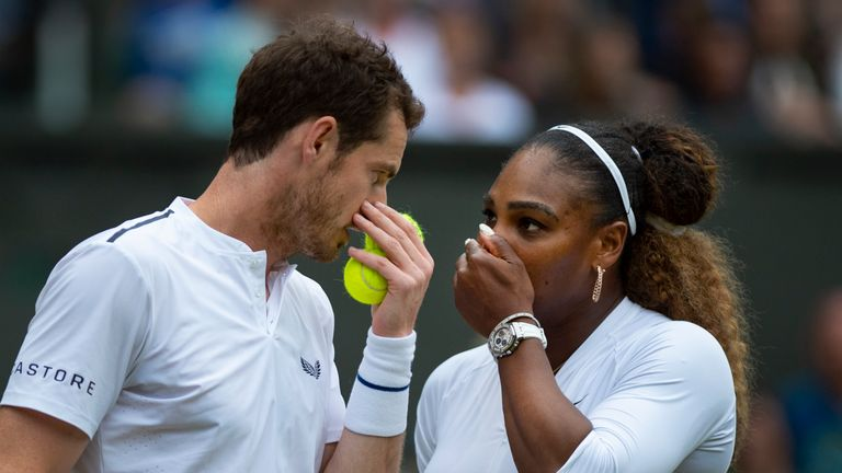 Murray and Williams will play top seeds Bruno Soares and Nicole Melichar