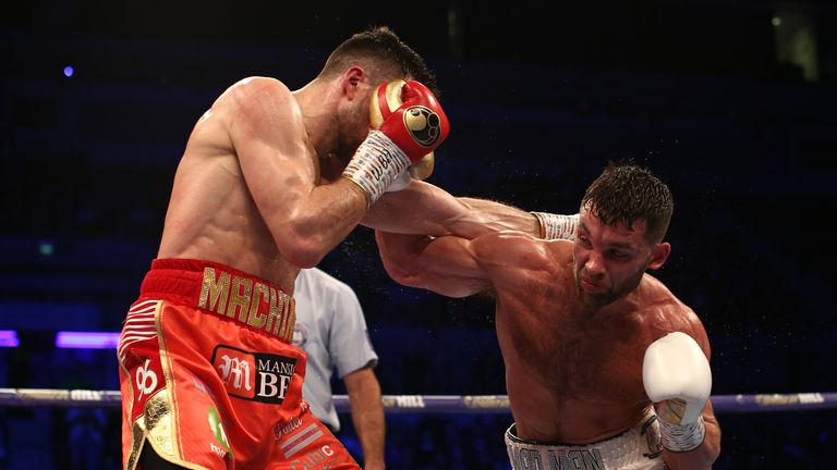 Unbeaten prospects Fowler and Fitzgerald met in a grudge match