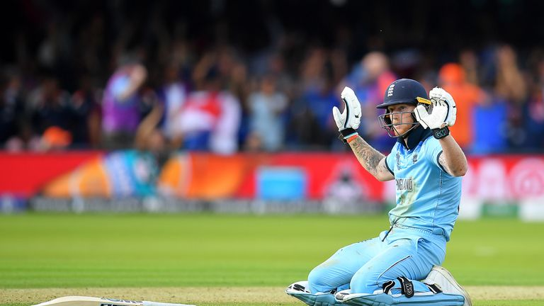 Ben Stokes was in the thick of the action during a breathtaking World Cup final