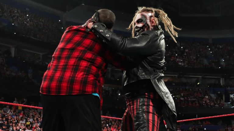 Bray Wyatt's Fiend made a statement put down Mick Foley with his old Mandible Claw finisher at the Raw Reunion