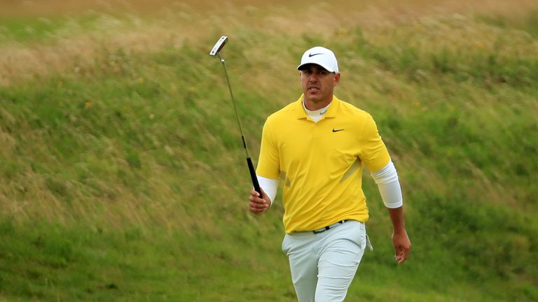 Brooks Koepka finished tied for fourth after a closing 74