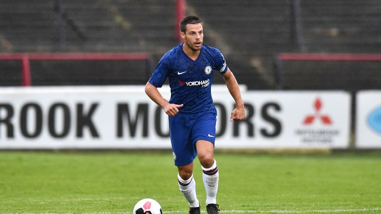 Cesar Azpilicueta has sprung to the defence of Abraham and Mount