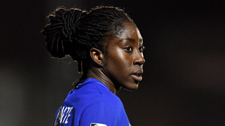 Anita Asante spent six years in Sweden before returning to England in 2018 to play for WSL side Chelsea