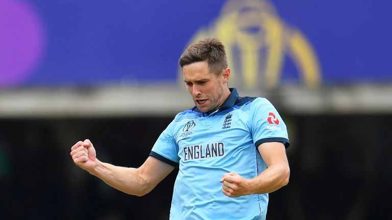 Chris Woakes was one of England's star performers in the World Cup