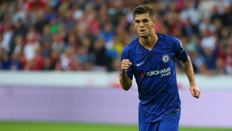 Christian Pulisic opened his account for Chelsea