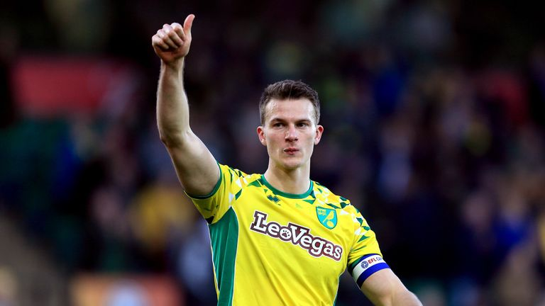 Christoph Zimmerman captained Norwich towards the end of last season
