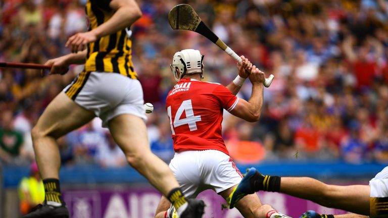Patrick Horgan scored his second goal from his knees
