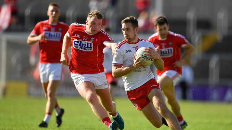 Tyrone ran out convincing winners when the sides met in the qualifiers last summer
