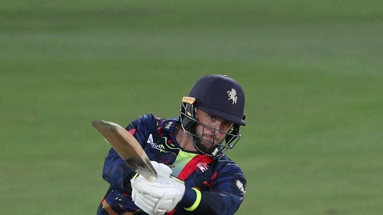 Alex Blake is a key man for Kent in the field as well as with the bat