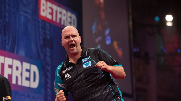 Rob Cross is aiming to win his first major title since winning the 2018 World Championship title