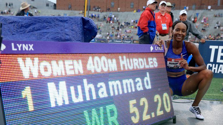 Muhammad ran 52.20 seconds