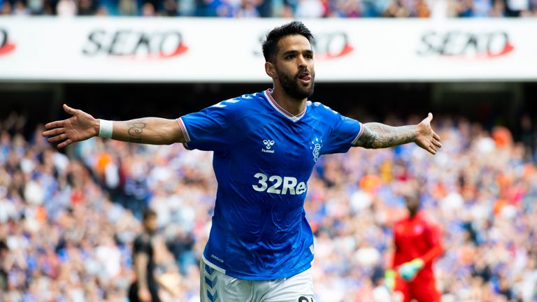 Daniel Candeias scored 14 times for Rangers