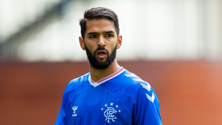Daniel Candeias will not feature for Rangers on Tuesday