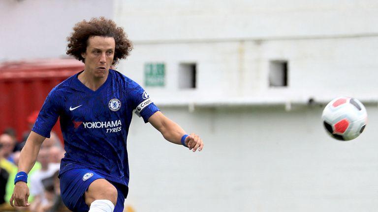 Chelsea legend Frank Lampard must deliver, says David Luiz