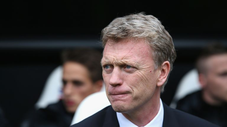Moyes was sacked by United in April 2014 after 10 months in charge