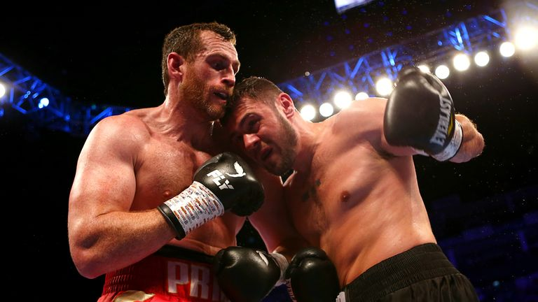 Price pounded David Allen to a halt in the 10th round at The O2