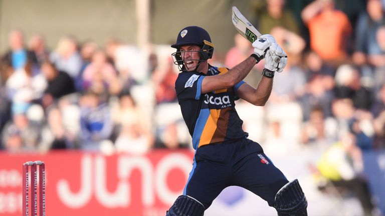 Wayne Madsen is Derbyshire's record T20 run-scorer