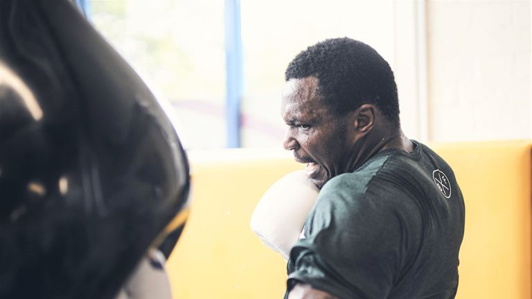 Whyte used to channel his aggression into kickboxing