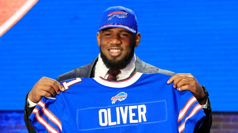 Ed Oliver fell to the Bills with the ninth pick of the 2019 NFL Draft