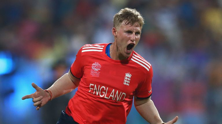 Root helped England to reach the World Twenty20 final in 2016